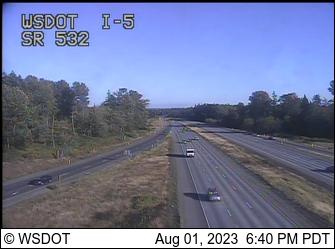 I-5 at MP 212.7: SR 532 Interchange