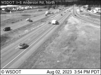 I-5 at MP 225.1: Anderson Rd (North)