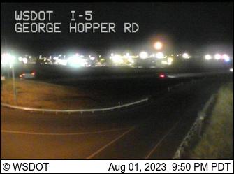 I-5 at MP 228.8: George Hopper Rd