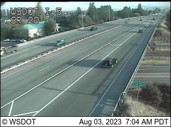 I-5 at MP 230.1: SR 20 Interchange