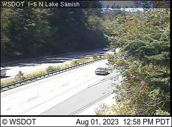 I-5 at MP 246.2: Lake Samish Park and Ride