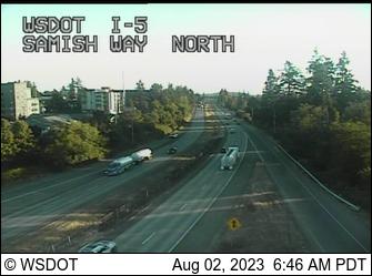I-5: Samish Way NB Onramp