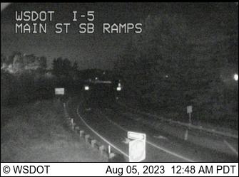 I-5 at MP 262.5: Main St SB Ramps