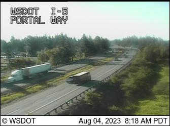I-5 at MP 263.6: Portal Way