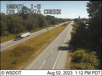 I-5 at MP 266.8: California Creek