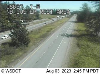 I-5: NB Custer Rest Area