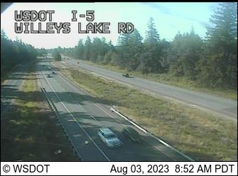 I-5 at MP 268.6: Willeys Lake Rd