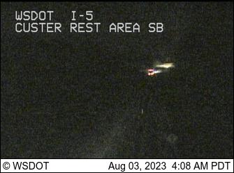 I-5: SB Custer Rest Area South
