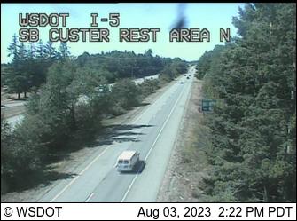 I-5: SB Custer Rest Area North