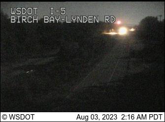 I-5 at MP 270.2: Birch Bay-Lynden Rd