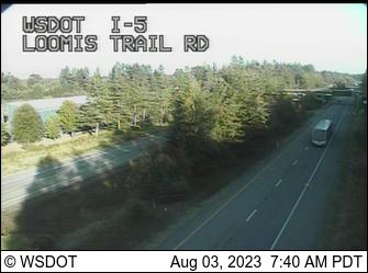 I-5 at MP 271.4: Loomis Trail Rd