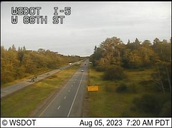 I-5 at MP 272.8: W 88th St