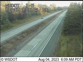 I-5 at MP 274.1: Peace Portal Dr