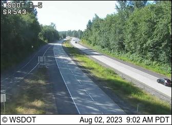 I-5 at MP 275.1: SR 543 Interchange