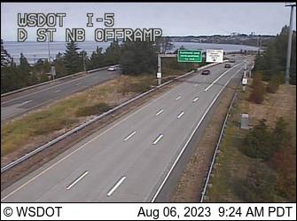 I-5 at MP 276.1: D St Offramp