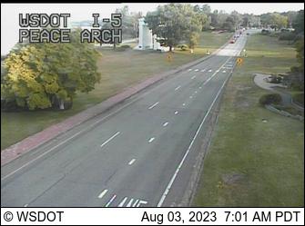 I-5 at MP 276.5: Peace Arch