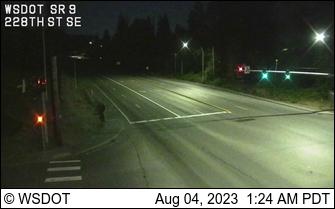 SR 9 at MP 0.5: 228th St SE