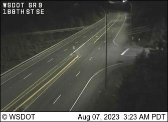 SR 9 at MP 3.1: 188th St SE