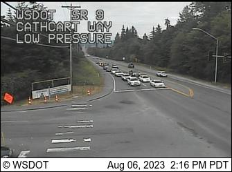 SR 9 at MP 6: Cathcart Way