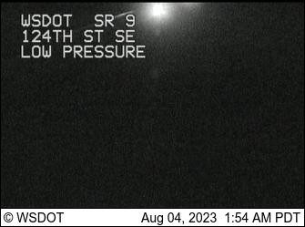 SR 9 at MP 7.4: 124th St SE