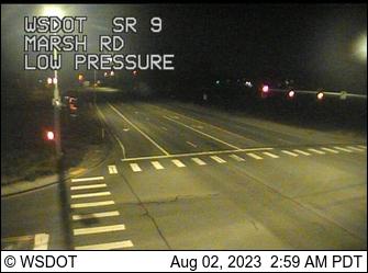 SR 9 at MP 8.4: Marsh Rd