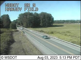 SR 9 at MP 8.8: Harvey Field