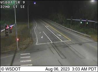 SR 9 at MP 13.3: 32nd St SE