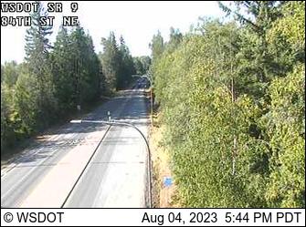 SR 9 at MP 20.5: 84th St NE