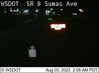 SR 9 at MP 96.8: Sumas Ave