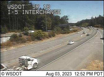 SR 18 at MP 0.1: I-5 Interchange