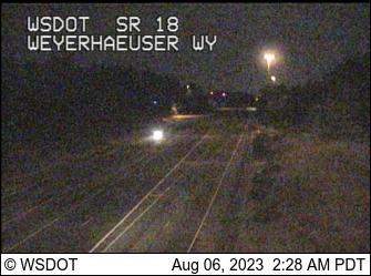 SR 18 at MP 0.7: Weyerhaeuser Way