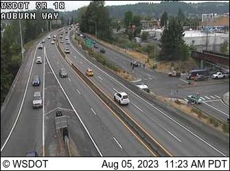 SR 18 at MP 4.2: Auburn Way
