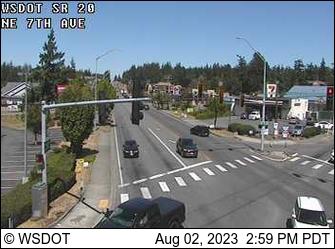 SR 20 at MP 32.6: NE 7th Ave