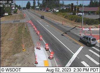 SR 20 at MP 33.3: NE 16th Ave