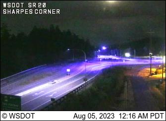 SR 20 at MP 47.8: Sharpes Corner (SR 20 Spur)