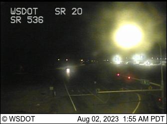 SR 20 at MP 55: SR 536 Interchange