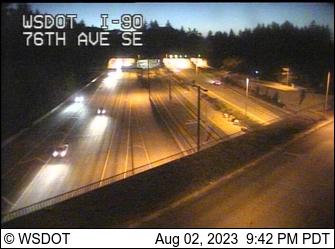 I-90 at MP 6.7: 76th Ave SE