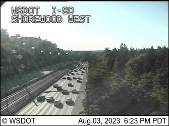 I-90 at MP 7.5: Shorewood West