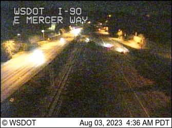 I-90: E Mercer Way