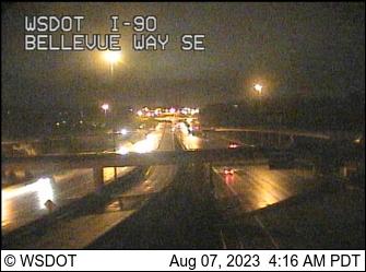 I-90 at MP 9.2: Bellevue Way SE