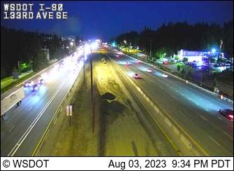 I-90 at MP 10.4: 133rd Ave SE