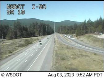 I-90 at MP 25.6: SR 18 Interchange