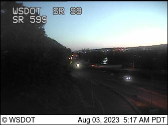 SR 99 at MP 23: SR 599 Interchange