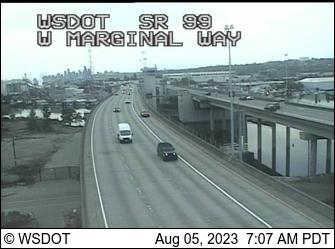 SR 99: W Marginal Way