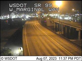 SR 99 at MP 26.7: W Marginal Way