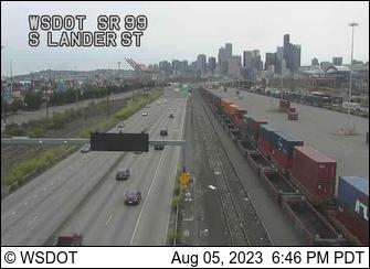 SR 99 at MP 29.4: S Lander St