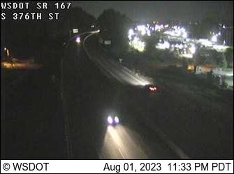 SR 167 at MP 11.6: S 376th St