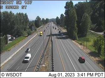 SR 167 at MP 13.1: S 353rd St