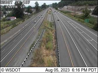 SR 167: S 346th St