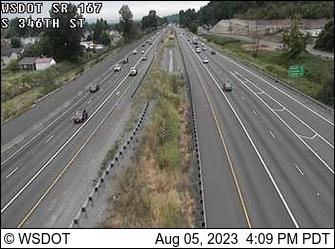 SR 167 at MP 13.5: S 346th St